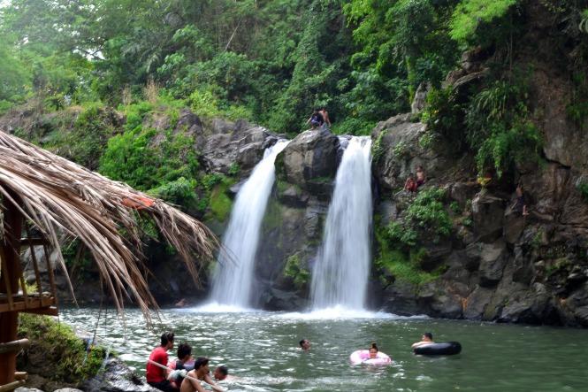 Twin Bunga Falls